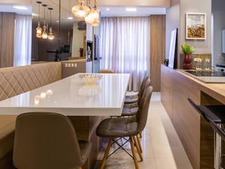 Larissa Minatti Interiores Ruang Makan Modern