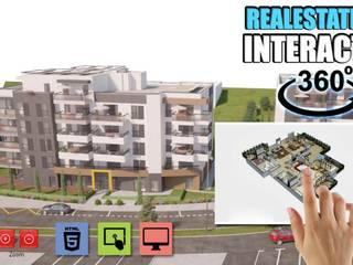Real Estate Virtual Reality Developer by Architectural Visualisation Studio,Dallas-USA 모던스타일 주택 by Yantram Architectural Design Studio 모던