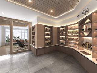 Termnature Modernize Design + Turnkey ห้องนั่งเล่น ไม้ Brown