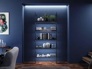 Damiano Latini srl Hotel Modern Aluminium/Seng Black