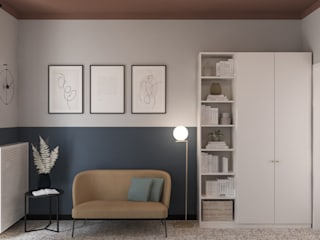 Bongio Valentina Modern Study Room and Home Office