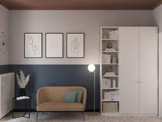 Bongio Valentina Oficinas y bibliotecas de estilo moderno
