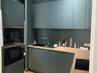 DR Diffusion Cuisiniste Lyon Dapur built in Green