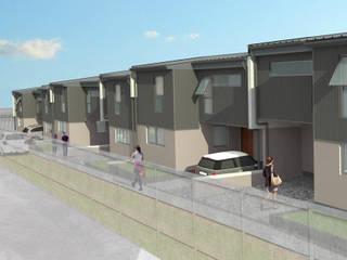 Condominio Gran Sol Materia prima arquitectos Casas unifamiliares