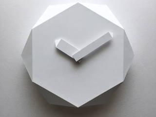 HEXA CLOCK Shinobu Koizumi Design Office 家庭用品家庭用品 紙 白色