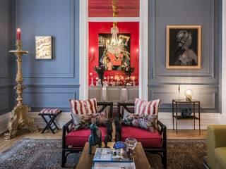 L'ÉLÉPHANT | Arquitectura e Interiores Ruang Makan Gaya Eklektik
