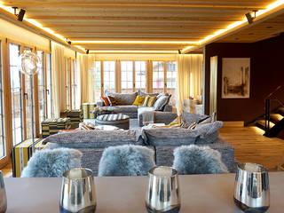 L'ÉLÉPHANT | Arquitectura e Interiores Ruang Keluarga Gaya Eklektik