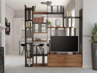 Mezzettidesign Living roomTV stands & cabinets Iron/Steel Black