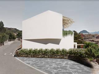 Architetto Alessandro spano Küçük Evler Ahşap