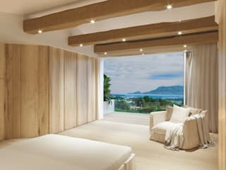 Mediterrane slaapkamers van Architetto Alessandro spano Mediterraan