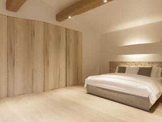 Architetto Alessandro spano Mediterrane Schlafzimmer