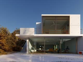 3D RenderLife Villa White