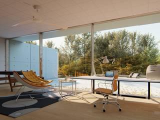3D RenderLife Ruang Keluarga Modern White
