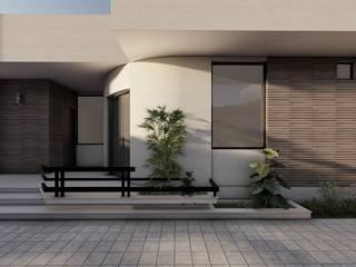 3D RenderLife Villa Wood effect