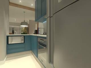 Cozinhas modernas por Daniela Hescheles Arquitetura Moderno