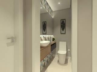 Casas de banho modernas por Daniela Hescheles Arquitetura Moderno