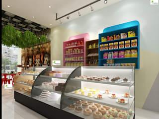Bakery interior work Monoceros Interarch Solutions Offices & stores
