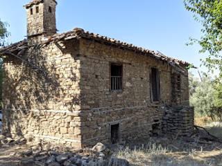 Eski taş evin tadilatı restore edilmesi Kayalar İnşaat Ltd şti.