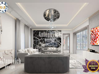 Luxury Antonovich Design Livings modernos: Ideas, imágenes y decoración