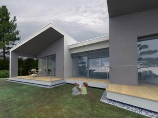 Nuova abitazione monofamiliare tuttaunaltracasa Casa di legno Legno