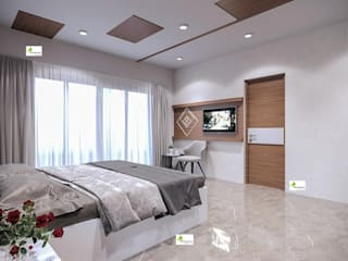 Monoceros Interarch Solutions Modern Bedroom Brown