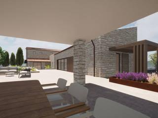 GIAN MARCO CANNAVICCI ARCHITETTO Modern style gardens