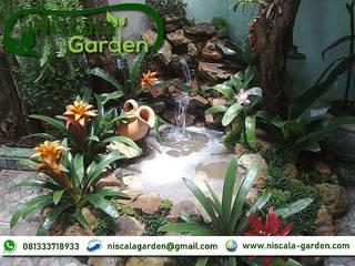 21 Desain Kolam Koi Klasik NISCALA GARDEN | Tukang Taman Surabaya Pusat Perbelanjaan Klasik