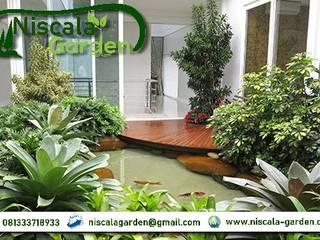 21 Desain Kolam Koi Klasik NISCALA GARDEN | Tukang Taman Surabaya Rumah Sakit Klasik