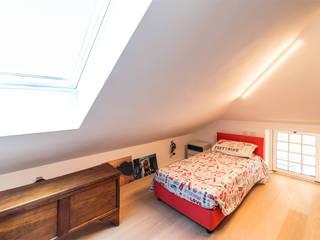 CC-ARK - SERENA&VALERIA Dormitorios de estilo moderno Madera Blanco