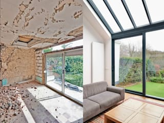 EDIL MAVI costruzioni Moderne Wohnzimmer