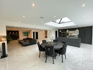 Pinner Loft Conversion & Full House Refurb The Market Design & Build غرفة السفرةكراسي ومقاعد