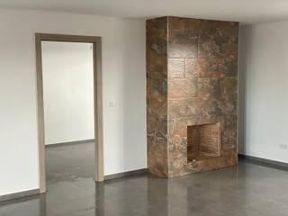 Holger Obras SL Ruang Keluarga Modern