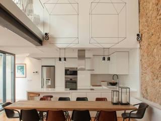 Loft | Marvila | Portugal Atelier Renata Santos Machado Salas de jantar industriais