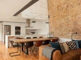 Loft | Marvila | Portugal Atelier Renata Santos Machado Salas de estar industriais