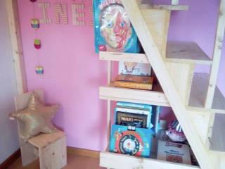 Home 'N Joy Remodelações Escaleras Madera Acabado en madera