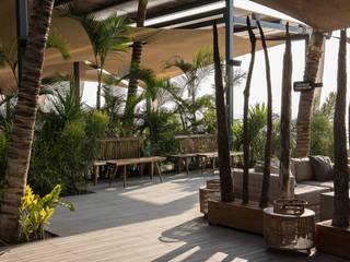 Restaurante | Café Del Mar | Angola Atelier Renata Santos Machado Espaços de restauração rústicos