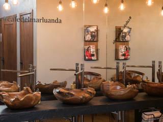 Atelier Renata Santos Machado Gastronomía de estilo rústico