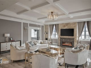 Neo Classic Interior Design LivingsSofás y sillones