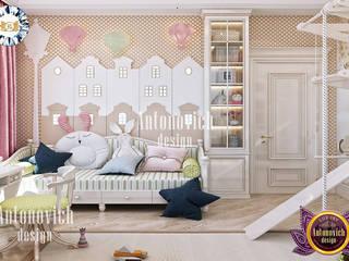 Luxury Antonovich Design Girls Bedroom