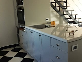 Modulor Mobiliario y Arquitectura 置入式廚房 石器 Grey