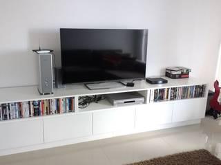 Modulor Mobiliario y Arquitectura 客廳電視櫃 White
