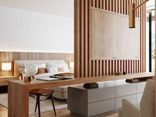 Thiết kế phòng ngủ Master đẹp và tinh tế Thiết Kế Nội Thất - ARTBOX