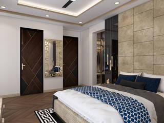Buddha Interiors Modern style bedroom