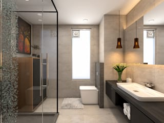 Interiors Buddha Interiors Modern bathroom
