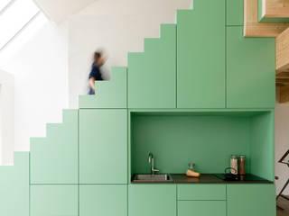 De Nieuwe Context Stairs Wood Green