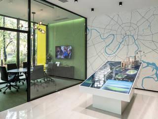 Espaces de bureaux modernes par ООО 'Студио-ТА' Moderne
