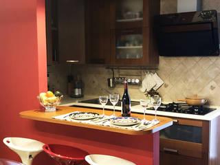 PROGETTO DI INTERNI PARZIALE DI UN APPARTAMENTO IN PROVICNIA DI MILANO Angela Archinà Progettazione & Interior Design Cucina moderna