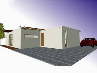 Modern houses by BLOC - Casas Modulares Modern
