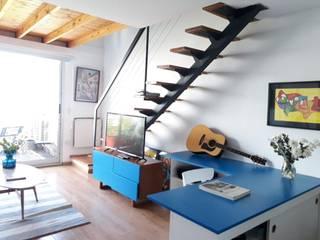 Modulor Mobiliario y Arquitectura 客廳 Multicolored