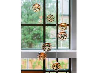 MIRA Interieur & Meubelontwerp Modern living room Copper/Bronze/Brass Black